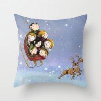 Little Hiddles Christmas… Throw Pillow