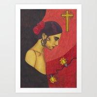 Surfer Rosa (Luxemburg) Art Print