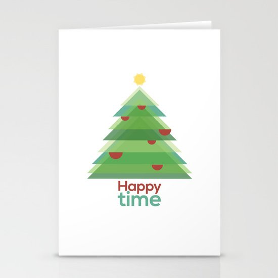 Happy time Stationery Card