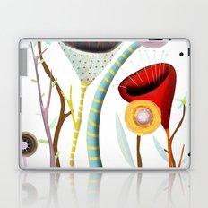 Wedding Tulip Poppy Bouquet Laptop & iPad Skin