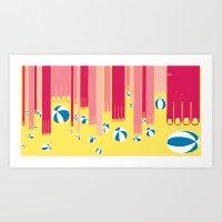 I Can Bowl A Ball, Many … Art Print