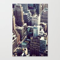 Ants At Congestion Canvas Print
