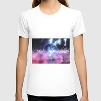 New Year's Eve at London Eye Womens Fitted Tee White SMALL
