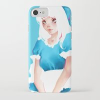 alice in wonderland iPhone & iPod Cases featuring Wonderland by Muzhur n' Leaevra