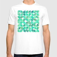 Minty Mens Fitted Tee White SMALL