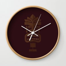 Tiki 001 Wall Clock