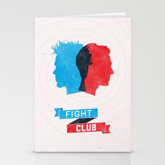 Fight Club Stationery Card