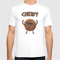 Chewy Chocolate Cookie W… Mens Fitted Tee White SMALL