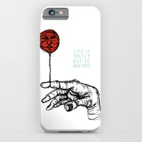 iPhone & iPod Case featuring Life is Pretty by Zach Hoskin