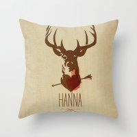 HANNA Film Tribute Poste… Throw Pillow