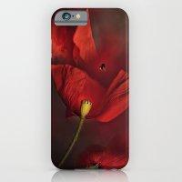iPhone & iPod Case featuring Poppies by Ellen van Deelen