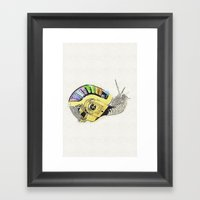# DaftSnail 1 Framed Art Print