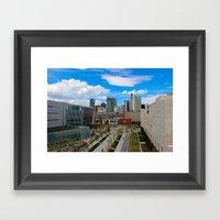 Denver, the real Sunshine State! Framed Art Print