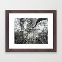 Beware Of Darkness Framed Art Print