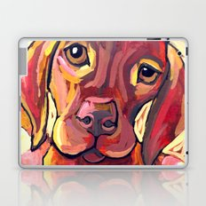 Dog with Shoes Laptop & iPad Skin
