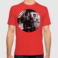 Benjamin Barker Mens Fitted Tee Red SMALL