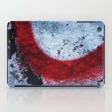 Red Paint iPad Case