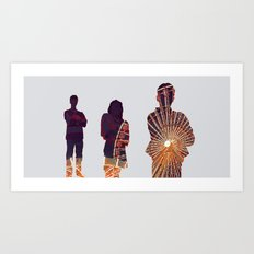Ferris Art Print