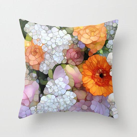 Joy is not in Things, it is in Us! Throw Pillow
