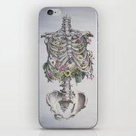Floral Anatomy Skeleton iPhone & iPod Skin