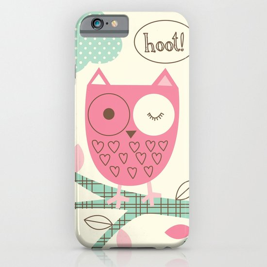Hooty Owl iPhone & iPod Case