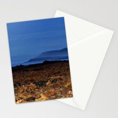 Seaweed Beach at Dusk Stationery Cards