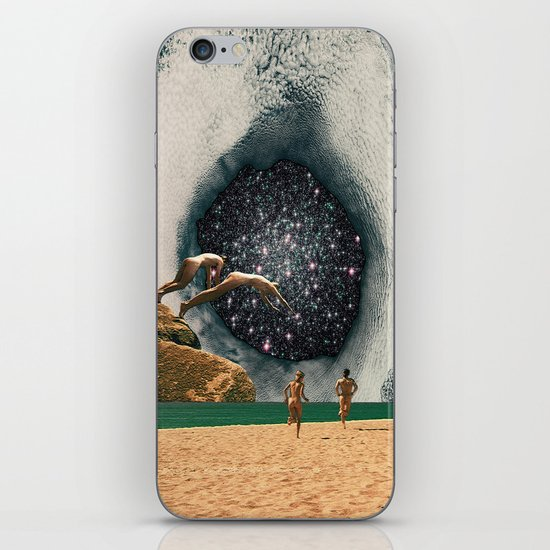 Catch the Wormhole of 3:45 PM iPhone & iPod Skin