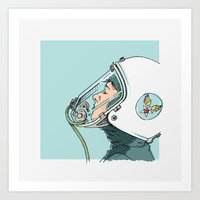Pilot Art Print