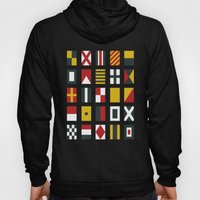 Nautical Flags Hoody