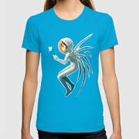 Contact Womens Fitted Tee Teal SMALL