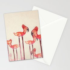 transmogrified flamingo colony Stationery Cards