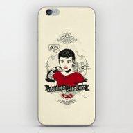 Miss Audrey Hepburn iPhone & iPod Skin