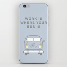 VW Bus love iPhone & iPod Skin