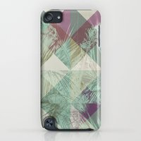 iPod Touch Cases featuring Palm Trees V by Metron