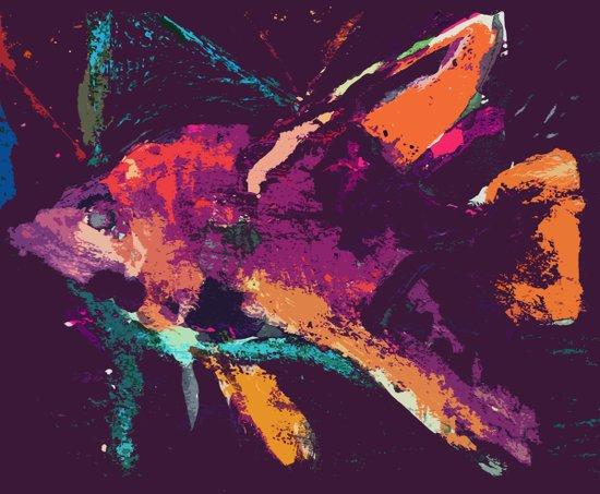 angelfish v2 Art Print