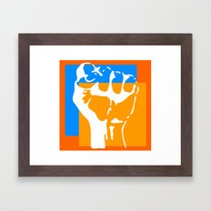 fight the power Framed Art Print