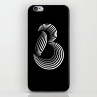 b like b iPhone & iPod Skin