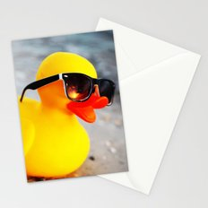 Beach Duck Stationery Cards