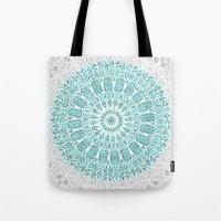 A Glittering Mandala  Tote Bag