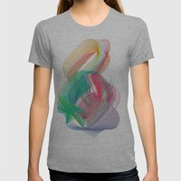 ngy Womens Fitted Tee Athletic Grey SMALL