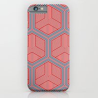iPhone & iPod Case featuring Hexagon No. 2 by Martin Isaac