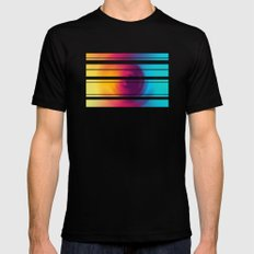 Colorful MIX Mens Fitted Tee Black SMALL