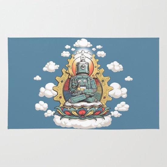 Buddha Bot v6  Area & Throw Rug