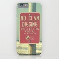 No Clam Digging iPhone 6 Slim Case