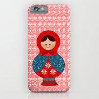 Matrioskas (Russian dolls) iPhone 6 Slim Case
