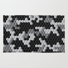 CUBOUFLAGE BLACK & WHITE Rug