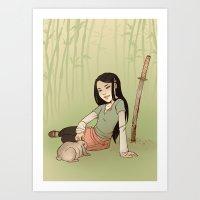 Usagi Art Print
