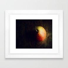 Pear romance Framed Art Print