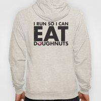 Run to Eat Doughnuts Hoody