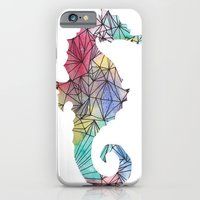 iPhone & iPod Case featuring Seahorse by suzy